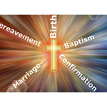 Births, Baptism, Confirmation, Marriage, Bereavement